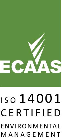 ECAAS ISO 14001 Certified